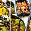 シズラー - 料理写真:ちらし寿司のようだが野菜、フルーツのブッフェ