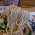 もんど - 細麺 (蔵出し醤油麺)