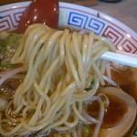もんど - 中太麺 (謹製 中華そば)