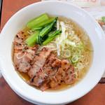 バーミヤン - 料理写真:香港式叉焼麺