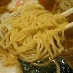 福徳 - 麺はF2、硬めオーダー