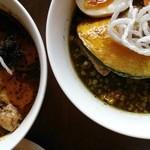 スパイスカフェ ベロデカ - スープ食べ比べ