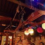 ももまる - 店内にはターザンロープとか吊り輪とか