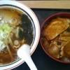 ドライブイン松の味 - 料理写真:ラーメン&豚丼セット