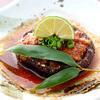 徳島産の大きな椎茸をグリルにした『椎茸のオーブン焼き』