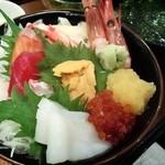 廻る 築地 あいよ寿司 - 料理写真:「海鮮旬彩スペシャル丼」(¥1,600税抜)