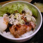 采 - 料理写真:チャーシュー丼・600円