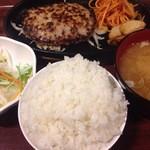 ファイヤーバーグ - 580円『ハンバーグセット150g』2016年1月吉日