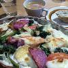 ポカ フレール - 料理写真:明日香産お野菜が入ったグラタン〜♬