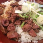 肉い奴 - 純レバ丼
