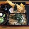 そば処 緑寿庵 - 料理写真:天せいろ、1050円です。