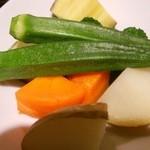晴ればーる - 茹で野菜