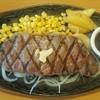 ステーキハンバーグ&サラダバー けん - 料理写真:熟成リブロース180g
