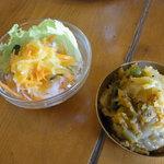 レストラン ディディ - サラダとサブジ