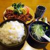備前 - 料理写真:ラム焼定食(焼,ライス大盛)