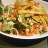 ラ・パットーラ - 料理写真:ごぼうのチップス入りツナサラダ。