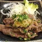 46848310 - 松坂牛焼き おろしポン酢