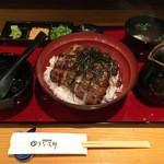 美味鰻彩 うな次郎 - 料理写真:まぶし丼 3300円