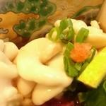 わらびや - 料理写真:白子ポン酢と熱燗でチビチビ