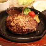 津の田ミート - 料理写真:定番 デミグラスハンバーグ