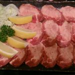 焼肉やっちゃん - 上ネギ塩タン(二人前)