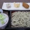 山笑 - 料理写真:そば屋料理3品盛ざるそばセット
