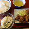 三輪食堂 - 料理写真:ご飯は小、全部で550円ぐらい