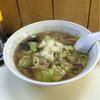 もろっこらーめん - 料理写真:野菜そばは醤油ベースのたんめんで美味しかったです。¥750