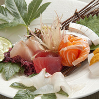 新鮮な海鮮料理