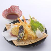 豊富なメニューから選べる≪天ぷら≫