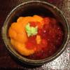 鮨菜 和喜智 - 料理写真:蝦夷馬糞海胆といくらの小丼(2013)