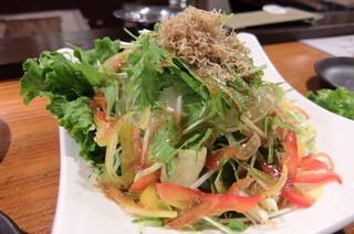 炉端のユーカラ - 本日のサラダ