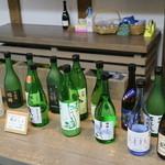 国稀酒造 - この日の試飲は17種類