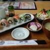 一休 - 料理写真:ロール寿司ランチ