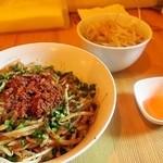 菜良 - 焼麺 ヤサイ 卵黄
