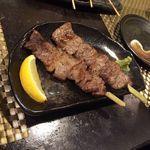 46893914 - 葉山牛の串焼き