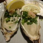 佐渡島へ渡れ - 焼き牡蠣