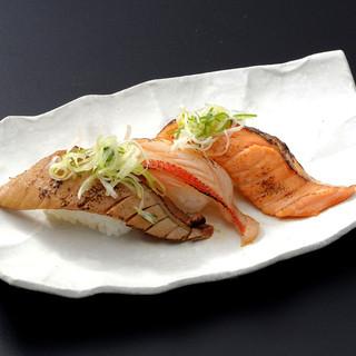 魚がし名物「デカネタ」