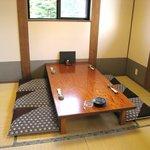 旬彩 伍合 - 6名部屋。畳のお座敷個室です。