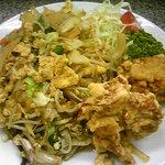 らーめん明日香 - 日替定食:玉子入り野菜炒め