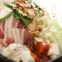 ◆特製辛みそもつ鍋