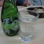寿々喜家 - 澤乃井の冷酒