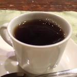 レストラン ピック - ドリンク写真:2016.1 食後のコーヒー