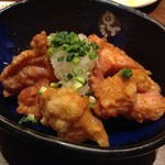 釜飯と串焼 とりでん - 鶏の唐揚げ【おろしポン酢】