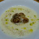 46949440 - 牡蠣とホロネギのスープ