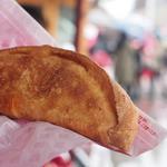 ブリーズウェイ・バイツ - フライドピザ(チキン&モッツァレッラ)(¥500)