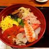 季の庭 - 料理写真:北海ちらし。ランチで950円(*^^*)