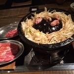 小樽ジンギスカン倶楽部 北とうがらし - 料理写真:肉新鮮、野菜沢山、大満足!