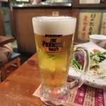 日の出横丁 - 生ビール