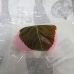 三吉野  - 料理写真:桜餅(こしあん)